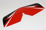 48'' Vyper - Horizontal Stabilizer and Elevator -  Red