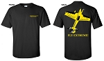 Extreme Flight Black T-Shirt - MXS