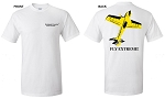 Extreme Flight White T-Shirt - MXS