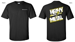 Extreme Flight Black T-Shirt - Heavy Metal