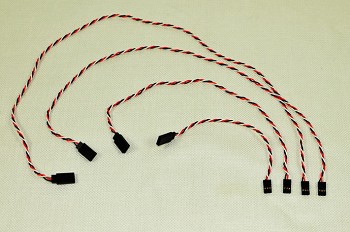 Servo Extension - 28 AWG - 6 inch