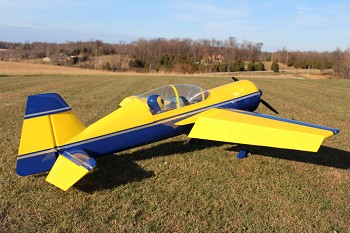"110"" Yak 54 V2 Yellow/Dark Blue"