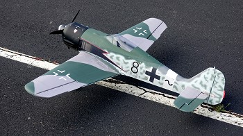 "62"" Focke-Wulf FW-190A- Black Eight"