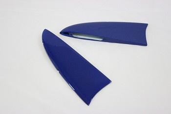 "48"" MXS-EXP Racing Wing Tips- Blue"