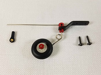 "48-52"" Aircraft Carbon Fiber Tail Wheel Assembly"