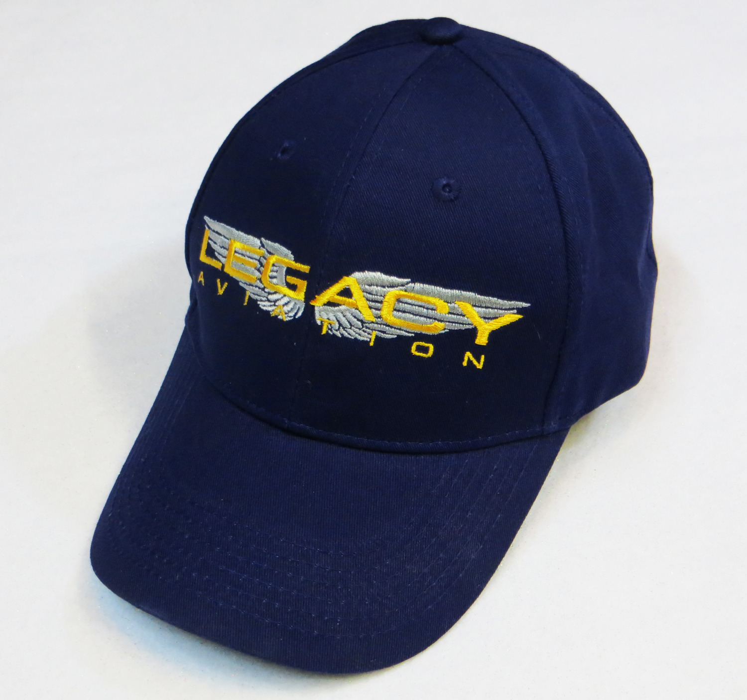 Legacy Aviation Logo Hat - Blue edbf4ba72f6