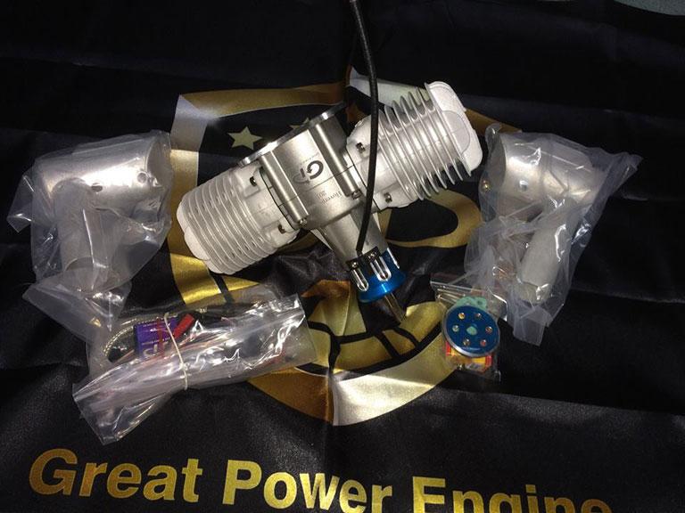 Great Power GP-123 Twin Gas Engine