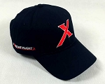 Extreme Flight  X Logo Hat - Black