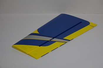 "60"" Edge 540T-EXP V2  Pilot's Left Wing w/control horn- Blue/Yellow"