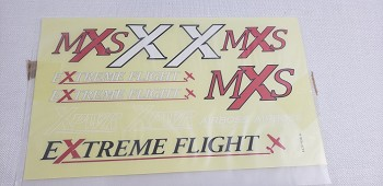 "64"" MXS V2 Decal Sheet - Red"