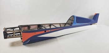 "60"" Extra 300-EXP V2 Fuselage- Orange/Blue"