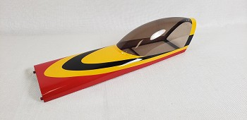 "52"" Velox Revolution Canopy- Red/Yellow"