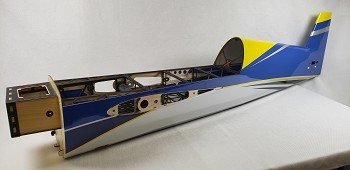 "85"" Edge 540T Fuselage- Blue/Yellow"