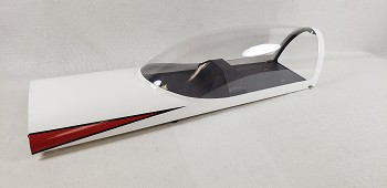"85"" Edge 540T Canopy- White/Red"
