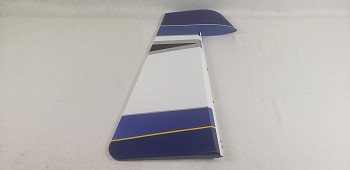 "104"" Extra NG  Rudder w/ control horns - Blue/Silver"