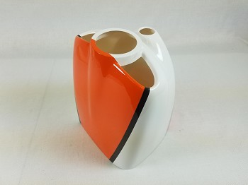 "3DHS 75"" Edge 540 Cowl- Orange/White"