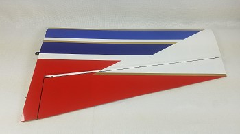 "3DHS 75"" Edge 540 Pilot's Right Wing- Red/White/Blue"