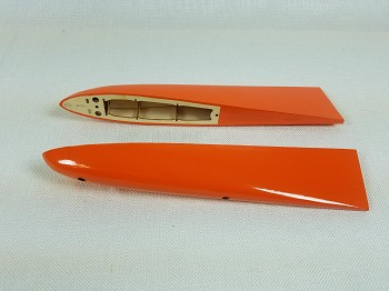 "95"" Extra 330SC-E Racing Wing Tips- Orange/Blue/White"