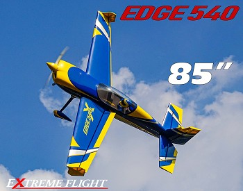 "85"" Edge 540T Blue/Yellow"