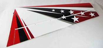 "104"" Extra 300 V2 Right Wing- Red/White/Black"
