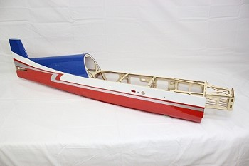 "48"" Edge 540T-EXP Fuselage- Red/White/Blue"