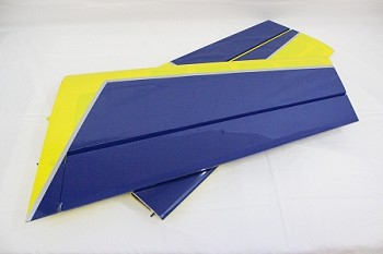 "60"" Edge 540T-EXP Pilot's Right Wing- Blue/Yellow"