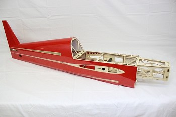 "48"" Laser-EXP Fuselage- Red"