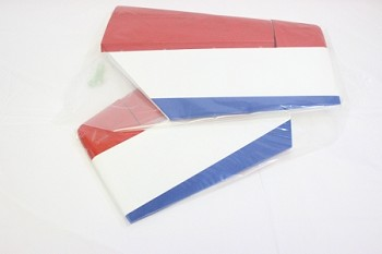 "91"" YAK54-EXP Stab/Elevator Set w/ control horns- Blue/White/Red (Russian)"