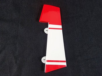 "44"" Turbo Duster Rudder - Red"