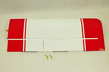 "65"" Turbo Duster Right Wing- Red/White"