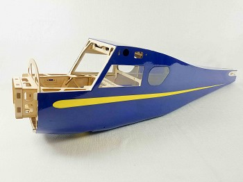 "72"" Muscle Coupe Fuselage -Blue/Yellow Scheme"
