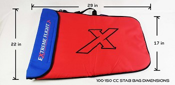 Extreme Flight Padded Stab Bag - 100-150cc