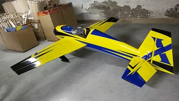 "105.5"" Slick 580 EXP- Yellow/Blue"