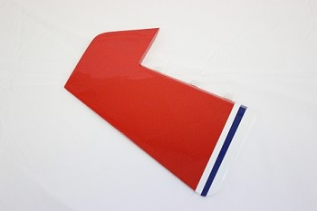 "48"" MXS-EXP Rudder- Red"