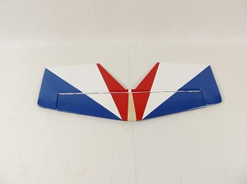 "48"" YAK54-EXP Stab/Elevator Set w/ control horns- Blue/White/Red (Russian)"