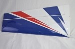 "78"" Extra 300 Pilot's Right Wing- Blue/White/Red"