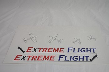"60"" YAK54-EXP Decal Sheet- Blue"