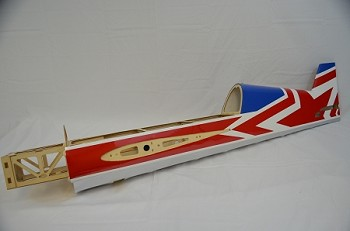 "60"" YAK54-EXP Fuselage- Blue/White/Red (Russian)"