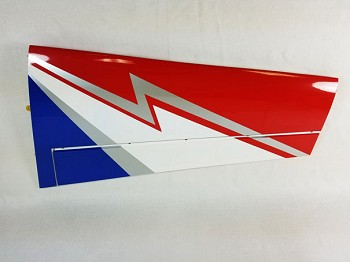 "74"" Edge 540T-EXP Pilot's Right Wing- Red/White/Blue"