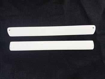 "84"" Bushmaster Wing Struts(2 pack)-White/Blue"